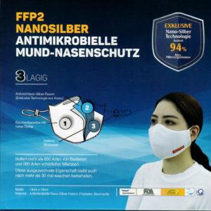 FFP2 Nano-Silber-Maske_Produkt Bild